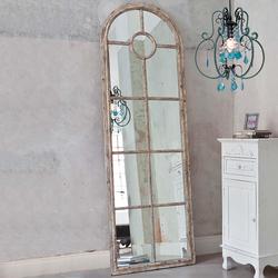 Spiegel »Fenster«, Spiegel, 756667-0 beige (B/H/T): 59/180/4 cm beige