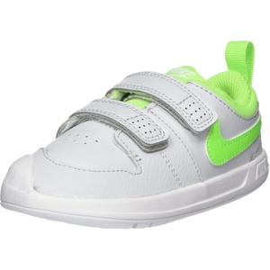 Nike Unisex-Kinder Pico 5 Sneaker, Grün(PURE PLATINUM/ELECTRIC GREEN-W),25 EU