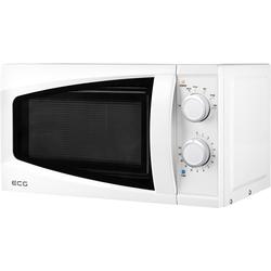 ECG Mikrowelle ECG MTM 2070 W (20/7/WS), 6 Leistungsstufen, Auftaufunktion