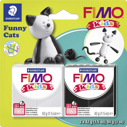 Fimo Funny Kids Cats