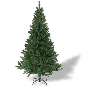 Julido Künstlicher Weihnachtsbaum Künstlicher Weihnachtsbaum 120cm bis 210cm hoch, 120cm hoch 260 Spitzen-Zweige grün Ø 90 cm x 120 cm