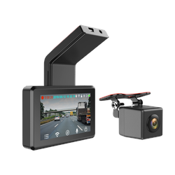 Full HD Dashcam inkl. 3 Monitor + Heckkamera DVRnitor + Heckkamera DVR