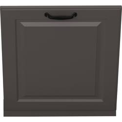 wiho Küchen Möbelblende Erla, 60 cm breit, für vollintegrierbaren Geschirrspüler grau