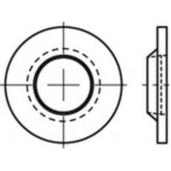 TOOLCRAFT Unverlierbarkeitsscheiben 88152 100 St. TO-5455029