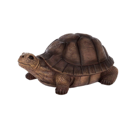 BIRENDY Dekofigur Birendy Schildkröte Zwerg Gartenzwerg Gartenwichtel Deko Zwerg Figur Gartendeko