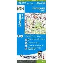 Limoux - Cazilhac 1:25 000