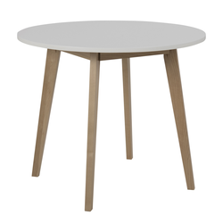 Stół do jadalni okrągły Jazina średnica 90 cm