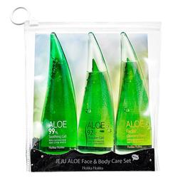 Holika Holika Jeju Aloe Face And Bodycare Set (3 x 55 ml)