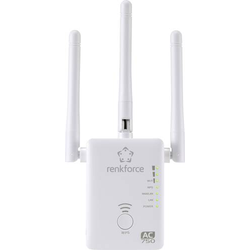 Renkforce WS-WN575A2 Dual Band AC750 WLAN Repeater 2.4GHz, 5GHz