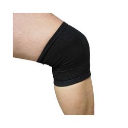 Bestlivings Hallux-Bandage, 1-tlg., Kniebandage elastische Stütze gegen Knieschmerzen während sportlicher Aktivität und nach Verletzungen schwarz