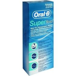 ORAL B Superfloss Zahnseidefäden 50 St