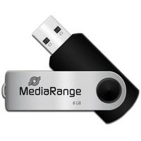 MediaRange MR908 8GB schwarz/silber