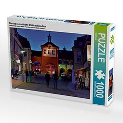 Durchs romantische Städle schlendern Lege-Größe 64 x 48 cm Foto-Puzzle Bild von Ingo Laue Puzzle