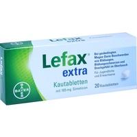 BAYER Lefax extra Kautabletten