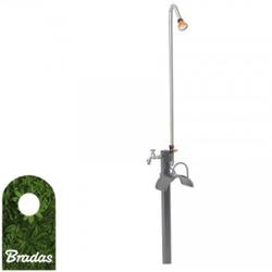 Gartendusche Garten-Set: Brause, Wasserhahn, Schlauchhalter Bradas AG8301 1585
