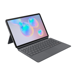 Samsung Book Cover Keyboard für Galaxy Tab S6, grau - EF-DT860