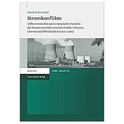 Stromkonflikte. Hendrik Ehrhardt  - Buch