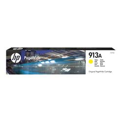 HP 913A - Gelb - Original - PageWide - Tintenpatrone - für PageWide 352, MFP 377| PageWide Managed MFP P57750, P55250| PageWide Pro 452, 477, 552