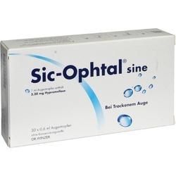 SIC OPHTAL sine Augentr. Augentropfen 18 ml