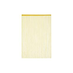 Fadenvorhang Fadenvorhang gold, relaxdays 145 cm x 245 cm