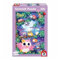 Schmidt Spiele Puzzle Im Eulenwald, 200 Puzzleteile