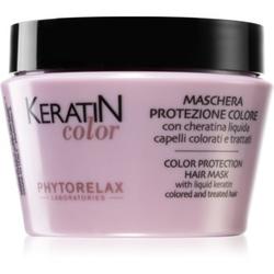 Phytorelax Laboratories Keratin Color Maske für die Haare mit Keratin 250 ml