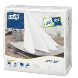 TORK 50 TORK Servietten LinStyle® Premium weiß