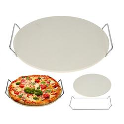 Pizzastein - Steinplatte für Pizza - Backstein 33 cm