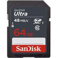 SanDisk SDXC Ultra 64GB Class 10 48MB/s UHS-I