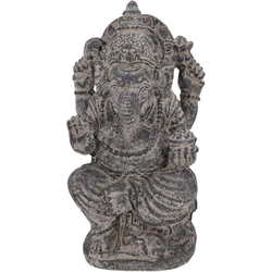 Guru-Shop Dekofigur Massiver Ganesha aus Stein