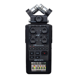 ZOOM H6 Audio Recorder Camcorder