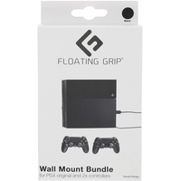 Floating Grip PS4 (original) Wall Mount by FLOATING GRIP® - Bundle
