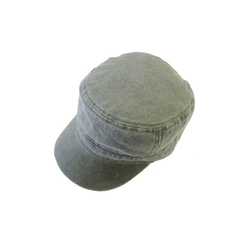 Chaplino Army Cap im Army-Style grün