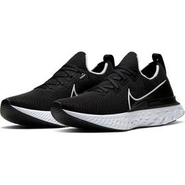 Nike React Infinity Run Flyknit W black/dark grey/white 40,5
