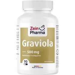 GRAVIOLA KAPSELN 500 mg/Kap.reines Blattpulv.Peru 90 St