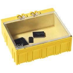 ELV 10er-Set SMD-Sortierbox, Gelb, 23 x 62 x 54 mm