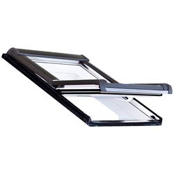 RORO Türen & Fenster Dachfenster Typ DKE201, BxH: 54x98 cm, weiß