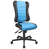TOPSTAR Sitness RS Gaming Stuhl blau Kunstleder