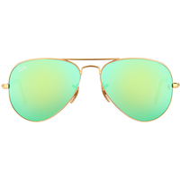 RB3025 55mm gold / green flash