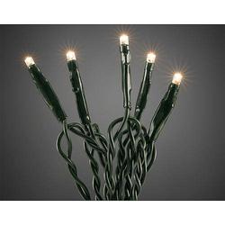 Micro LED-Lichterkette 100 flg. ww, grünes Kab. 6354-120