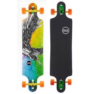 "NICE Longboards Nice Birdsong 41"" x 10"" Hardgoods Street, Multicolour, 9.5 x 39 Zoll"