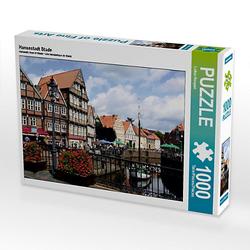 Hansestadt Stade Lege-Größe 64 x 48 cm Foto-Puzzle Bild von Lothar Reupert Puzzle