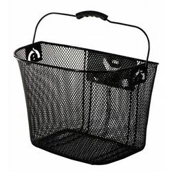 AMIGO Fahrradkorb fahrradkorb 13 Liter für Stahl schwarz