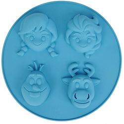 Backform Disney Die Eiskönigin Silikon mit Backbuch