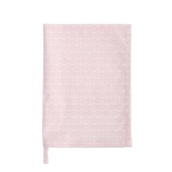 Krasilnikoff Vorratsglas Geschirrtuch BLOSSOM zart rosa weiß mit Blumen Küchentuch von Krasilnikoff