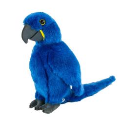 Teddys Rothenburg Kuscheltier Papagei blau 26 cm (Stofftiere Papageien Plüschtiere, Plüschpapagei Stoffpapagei Vögel)