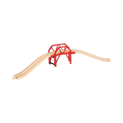 BRIO® Spielzeug-Eisenbahn Bahnbrücke mit Auffahrten