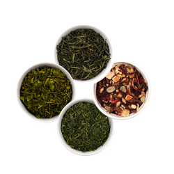 ISYbe BIO Tee: Probierset Grüner Tee, 3 x Grüner Tee, 1 x Energy Drink Orange, 4 x 25 g