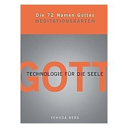 Die 72 Namen Gottes, Meditationskarten