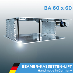 Beamerlift Deckenlift Projektorlift BA 60 x 60